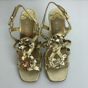 Taryn Rose sling back heels